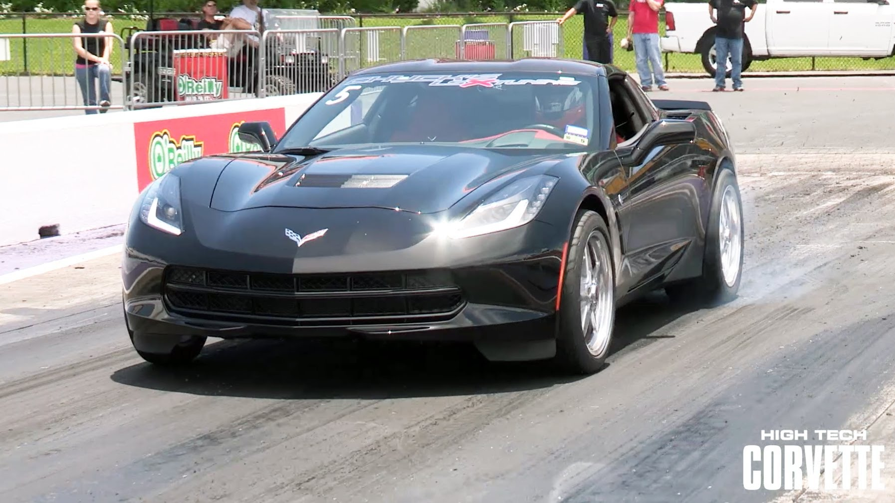 Bad Ass Sounding C7 Corvette