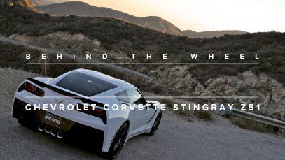 Behind The Wheel: 2014 Chevrolet Corvette Stingray Z51
