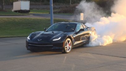 BEST C7 Stingray Corvette Burnout!!!