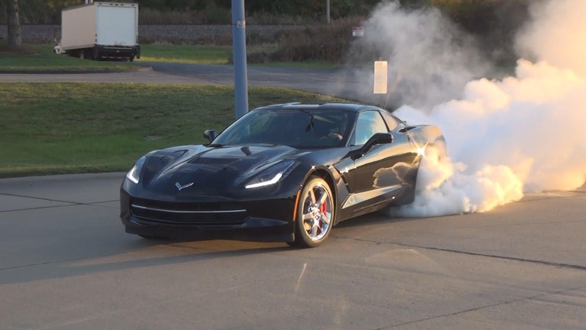BEST C7 Stingray Corvette Burnout!!!