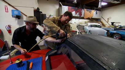 C2 Corvette Soft Top Install | Wheeler Dealers