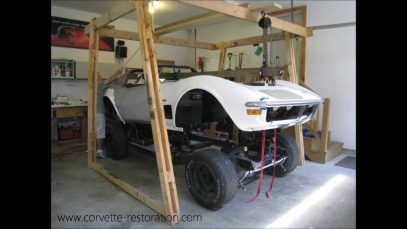 C3 Corvette Body Lift in About a Minute