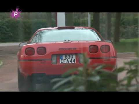 C4 ZR-1 Corvette in Chateaubriant France