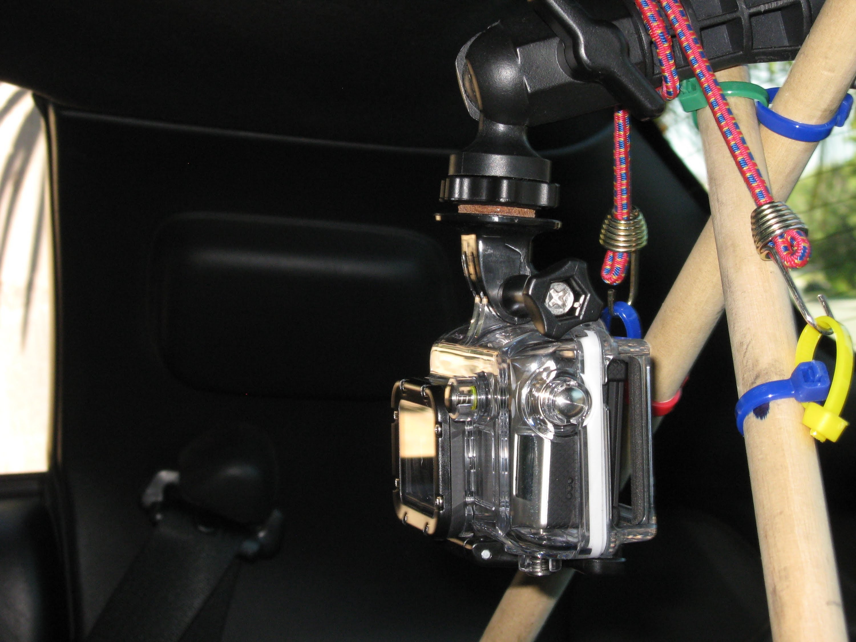 C5 Corvette GoPro Hero camera mount by froggy