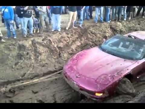 C5 Corvette vs Mud