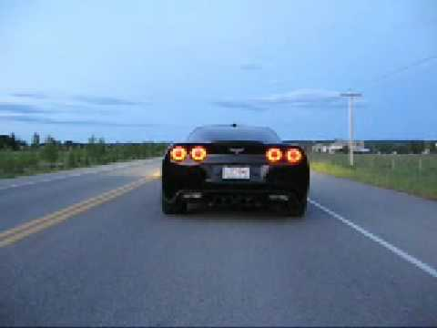 Cammed 415whp 2005 C6 Corvette idling, revving and launch!