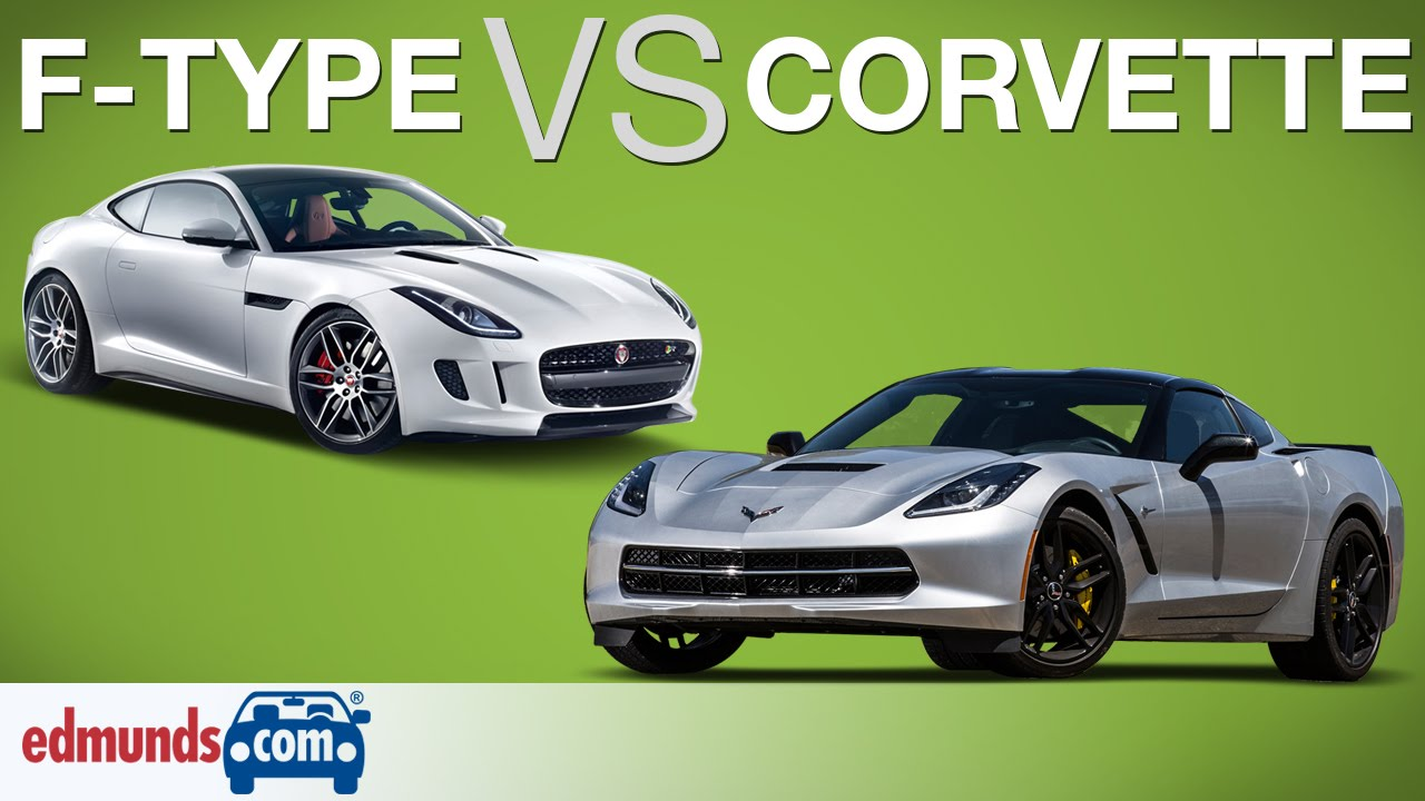 Chevrolet Corvette vs Jaguar F-Type – Edmunds A-Rated Sports Cars Face Off