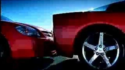 "Chevy Cobalt spot ""Bump"" with ther 2005 Corvette"
