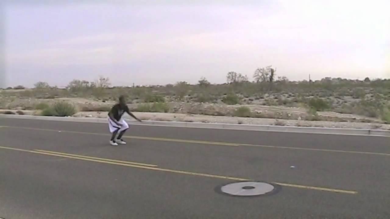Corbin Smith Jumping over Corvette