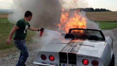 Corvette 1968 Big Block on Fire!!