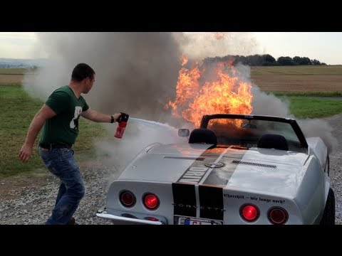 Corvette 1968 Big Block on Fire!!