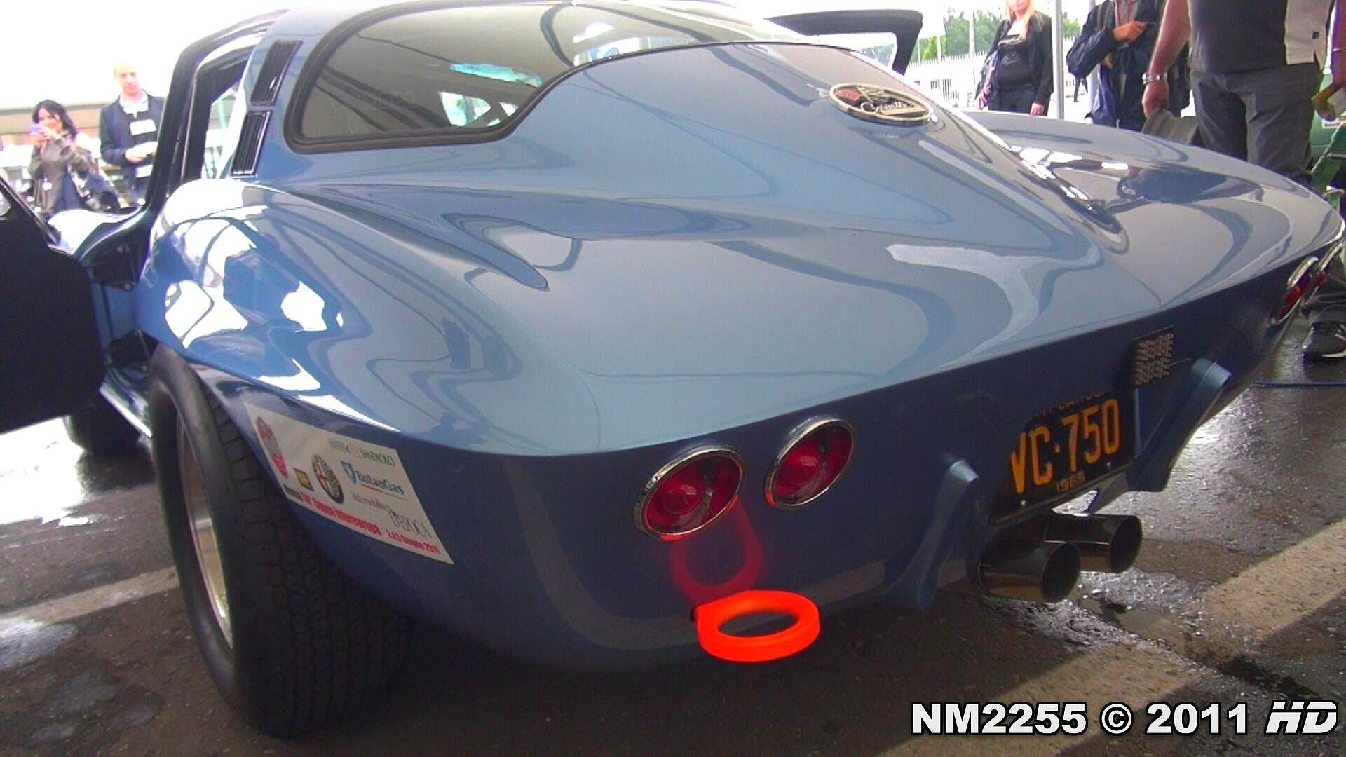 Corvette C2 Sting Ray Lovely V8 Muscle Sound