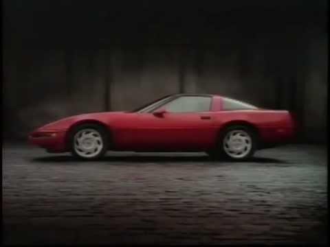 "Corvette C4 1992 Advertisement USA ""All-American Legend"""