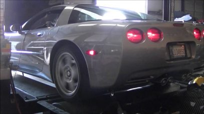 Corvette C5 Headers and Exhaust Install