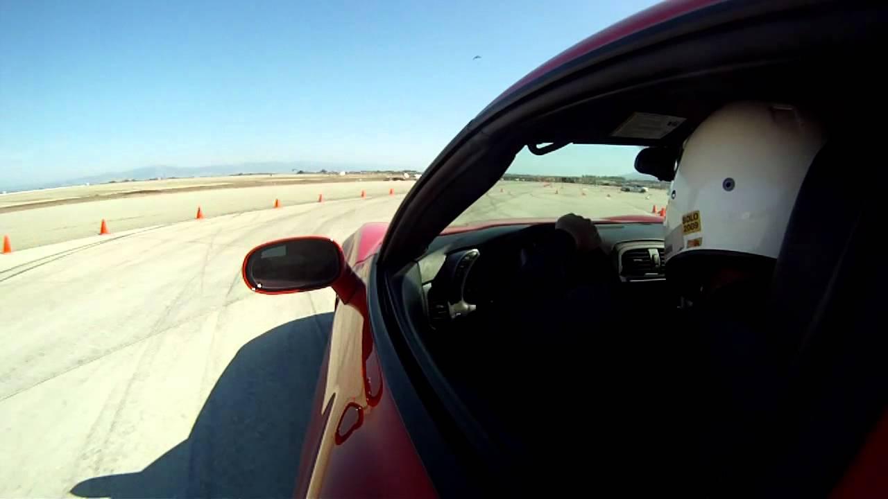 Corvette C6 Z06 Autocross – 10/13/12 with GGLC @ Marina
