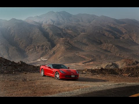 Corvette C7 Stingray and SEVEN Epic Driving Roads