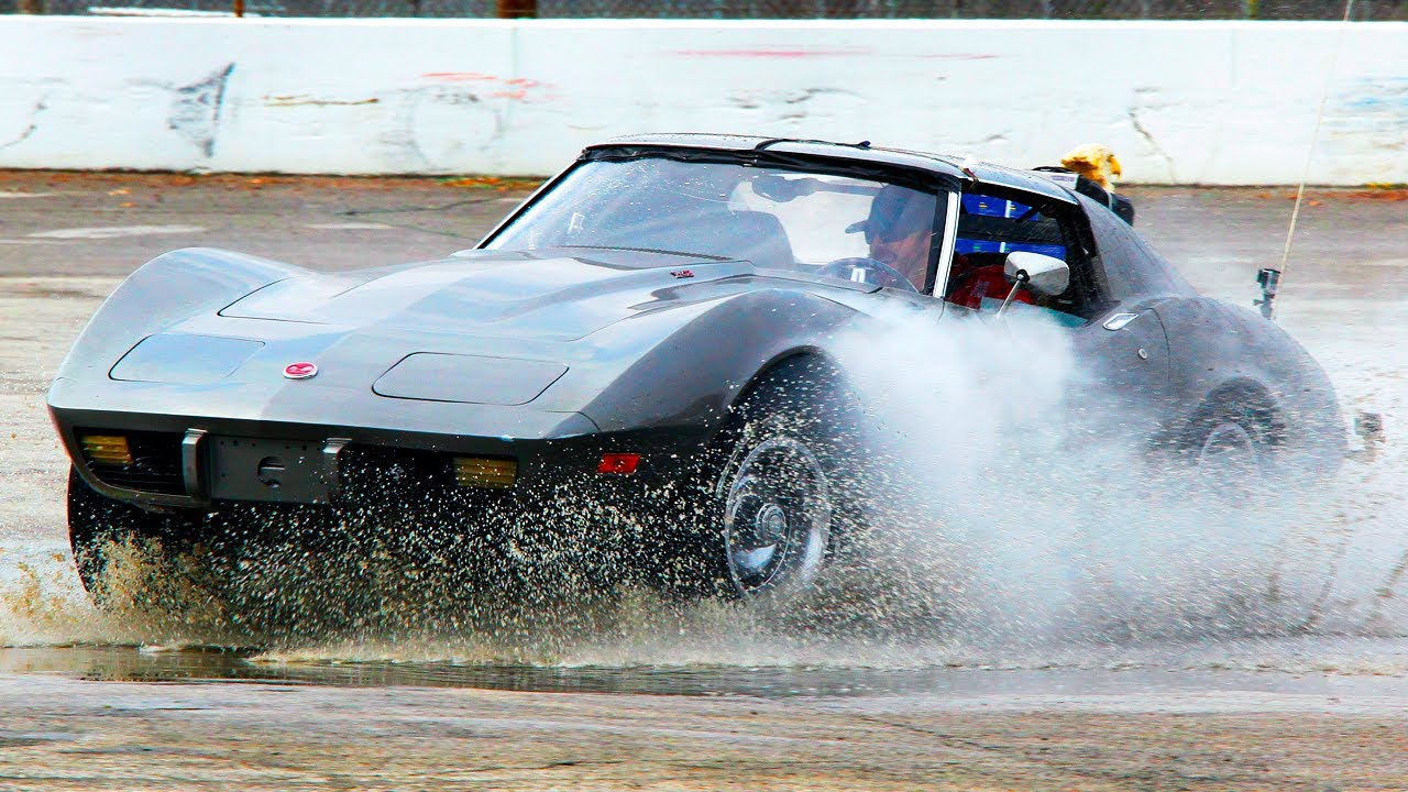 Corvette Sinkhole Adventure in a 1975 Stingray! – Roadkill Ep. 27