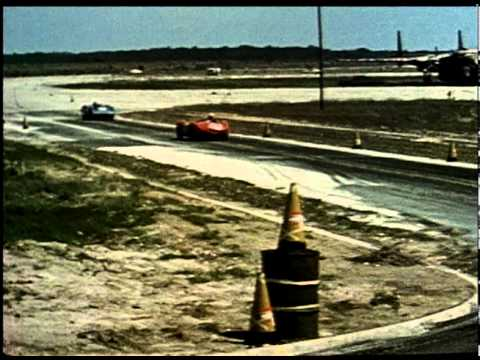 Corvette SS at Sebring Race Day 1957