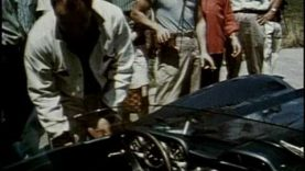 Corvette SS Preps for Race at Sebring 1957