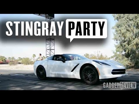 Corvette Stingray Desert Pool Party at the Bootsy Bellows Coachella Weekend 1