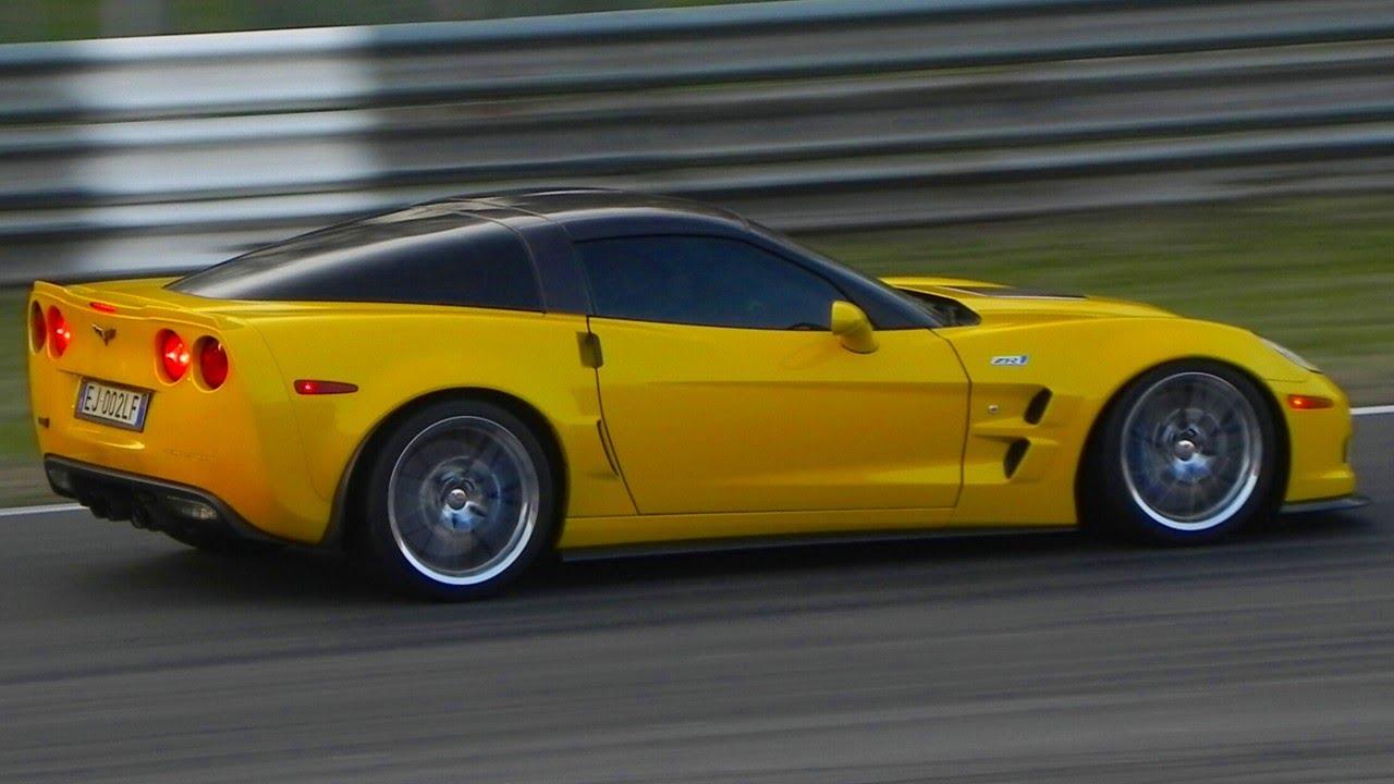 Corvette ZR1 Modified Exhaust Amazing SOUND – Flames, Full Throttle Accelerations