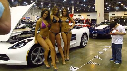 Corvette/Chevy Expo 2014 — Bikini Photo Shoot #3