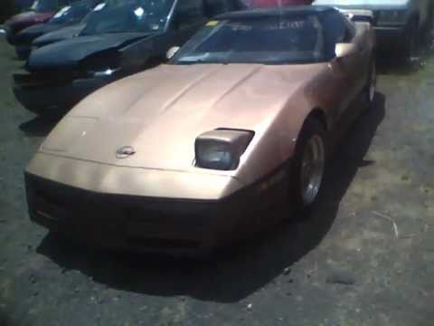 Custom C4 Chevrolet Corvette – Theft Victim (A Day At The Salvage Yard)