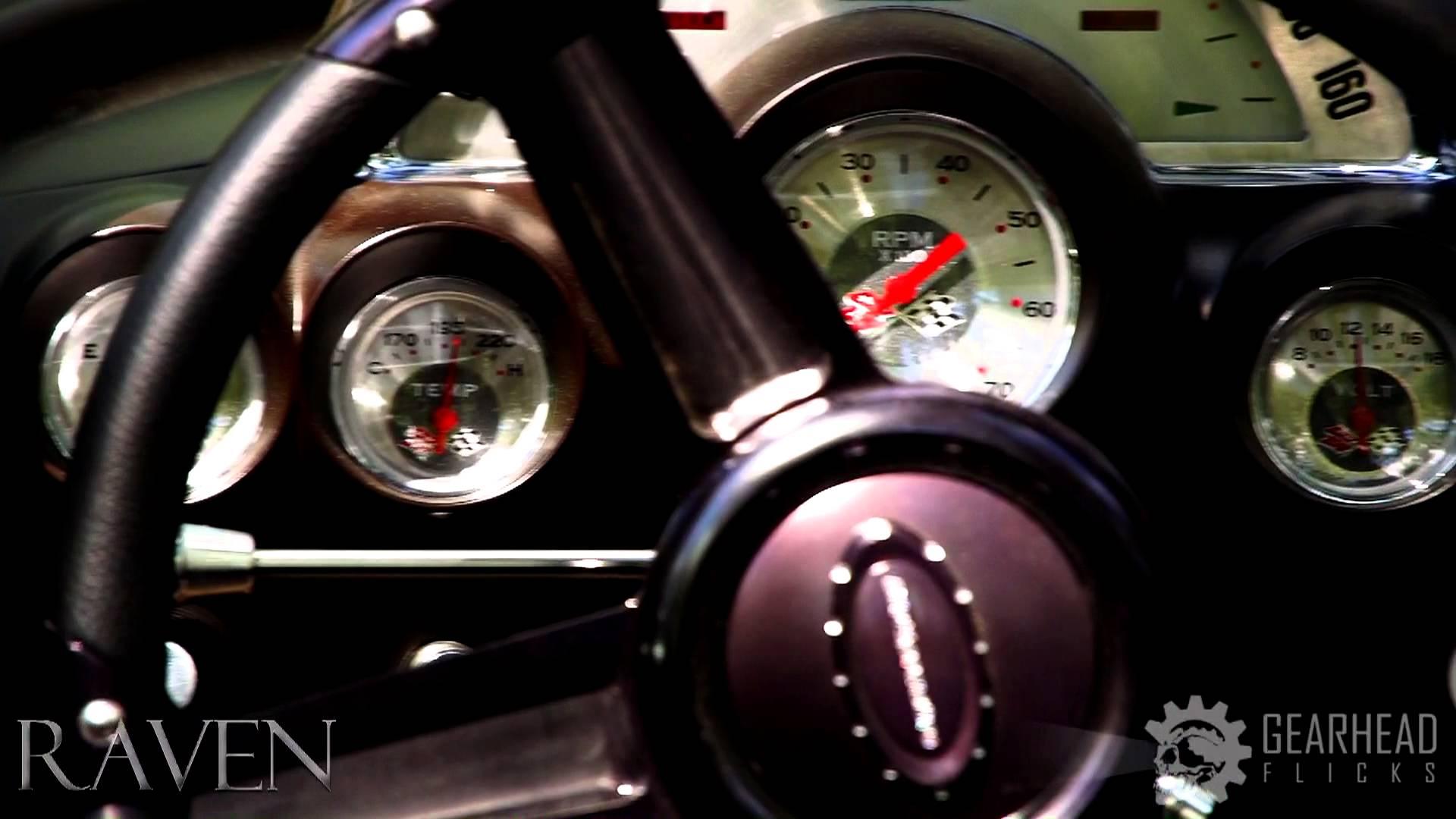 Deral Knight's 1959 Corvette  'Raven' Flies!