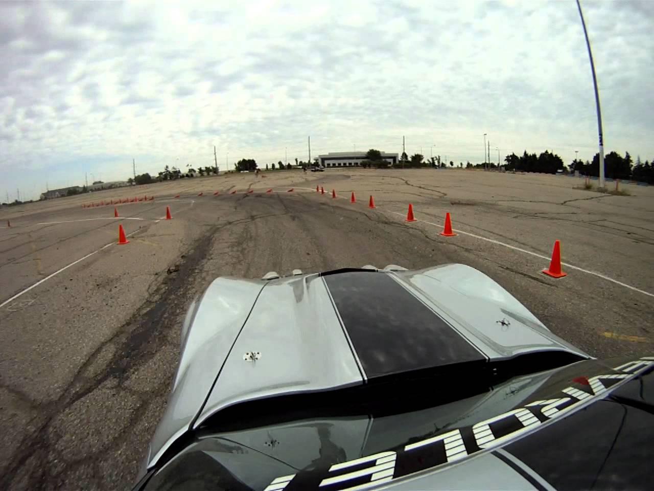 Detroit SCCA – 6/24/12 @ Pontiac Silverdome – Prepared C3 Corvette