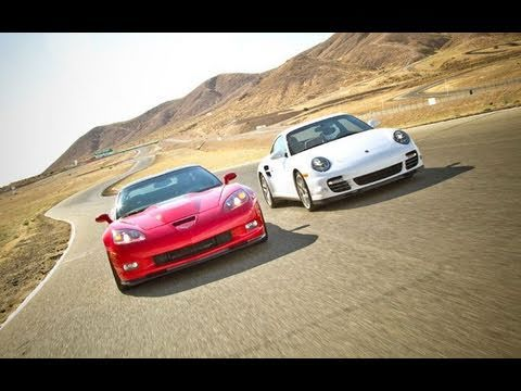 Drag Race! Chevrolet Corvette ZR1 vs Porsche 911 Turbo