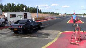 E85 Fuel Corvette Drag Race 9,983 alastaro