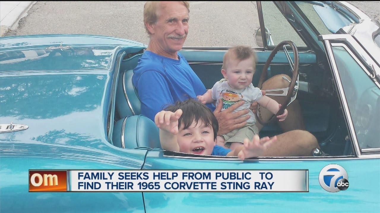 Family asks for help looking for stolen Corvette Stingray