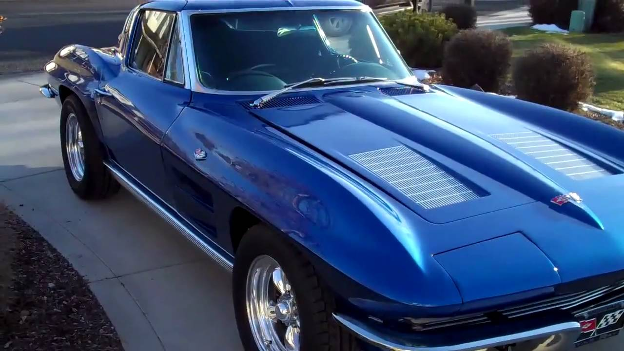 "Gunter's restored 1963 Split Window Corvette ""Test drive"""