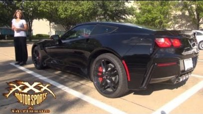Guy Surprised Girlfriend with 2014 C7 Corvette