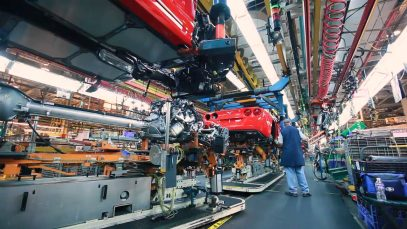 History of Corvette manufacturing in St. Louis, Mo. & the move to Bowling Green, KY