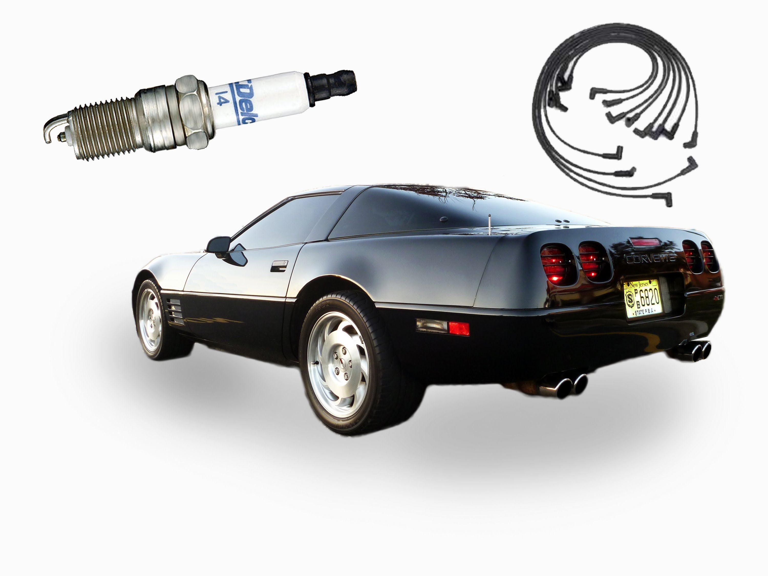 How to Change the Spark Plugs and Wires in a Corvette