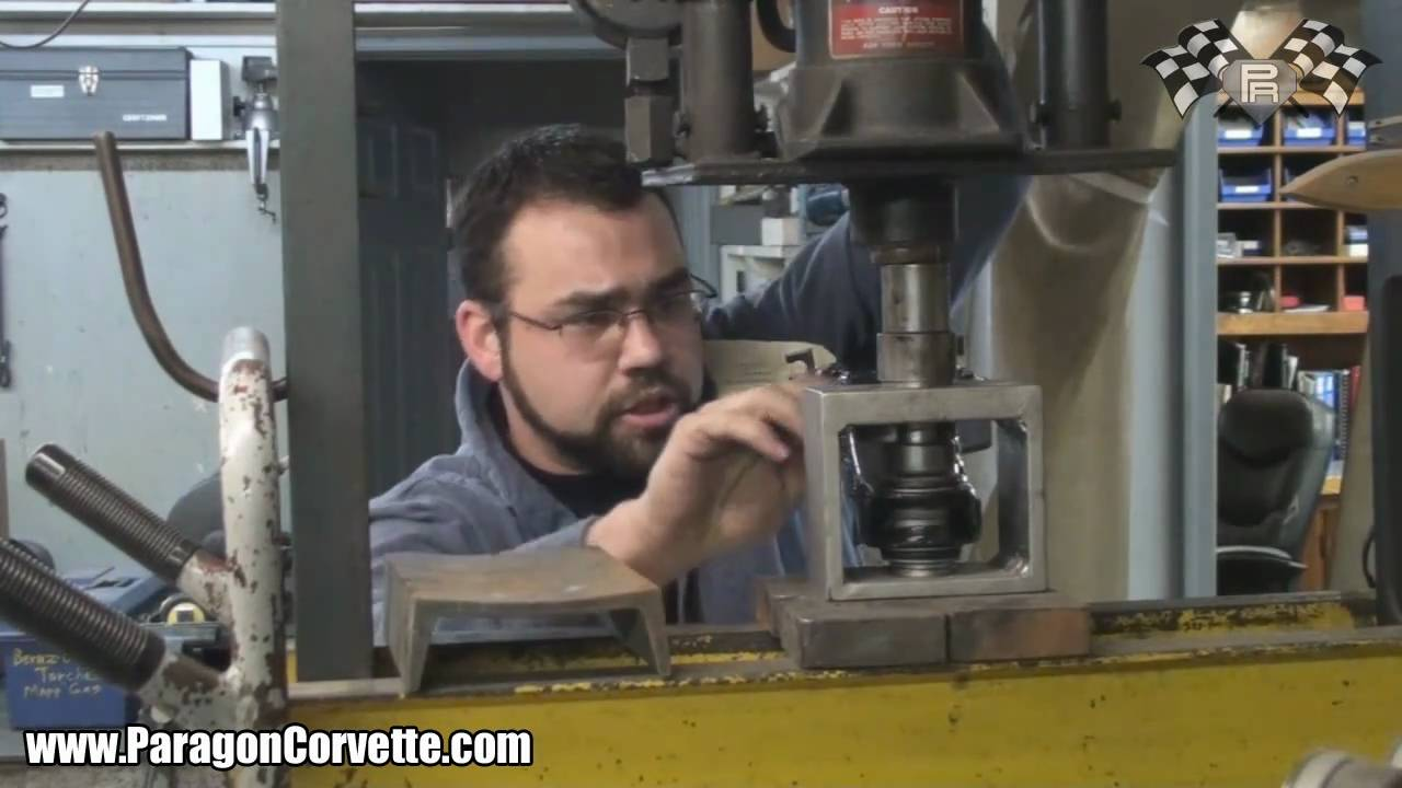 How to Install 1963 – 1982 Corvette Control Arm Pivot Shafts