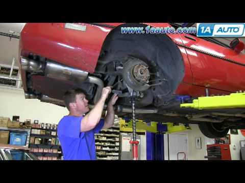 How To Install Replace Rear Wheel Bearing Hub 1984 – 1996 Chevy Corvette