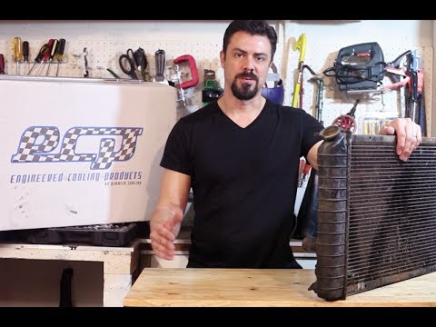 How to Remove and Replace a Radiator – Corvette C4