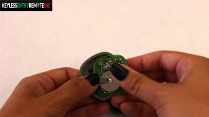 How To Replace A Chevrolet Corvette Key Fob Battery 2001 – 2005