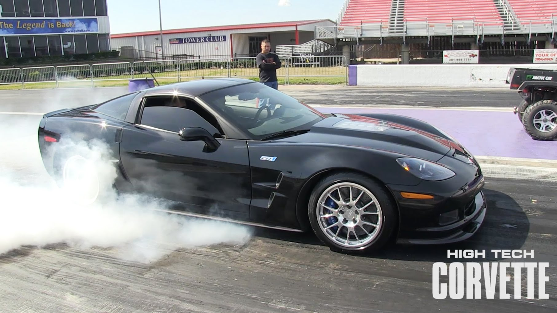 Incredible Sounding 9 Second C6 Corvette ZR1