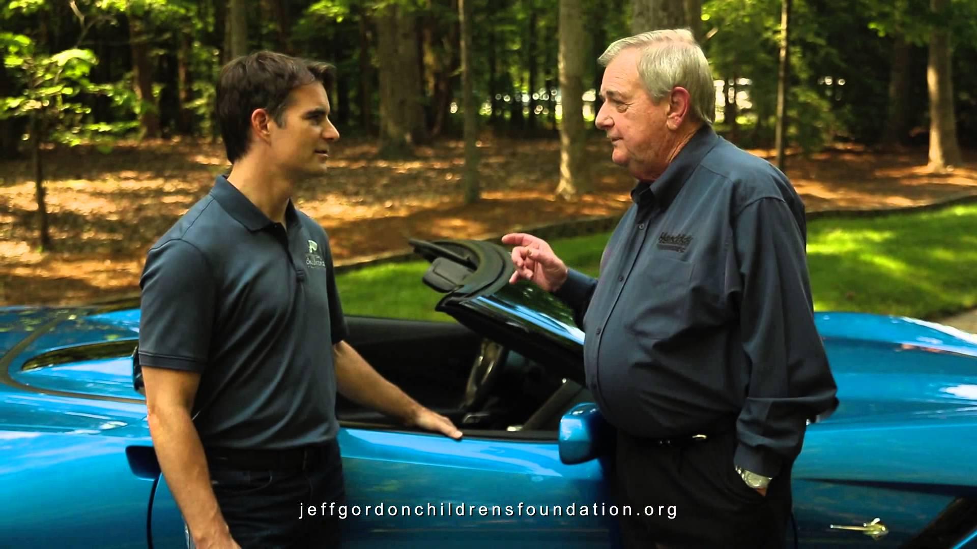Jeff Gordon and Jim Perkins – 2014 Corvette Stingray