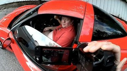 'John' busted having public sex next to a church in a Corvette