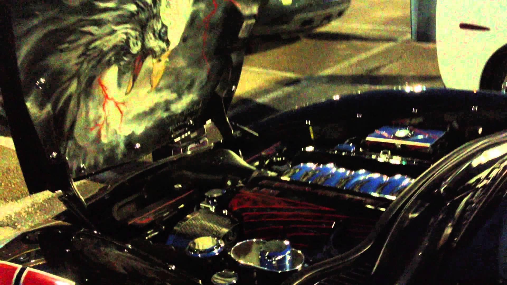 Karen Bedell in Baton Rouge, LA gives a Corvette light show
