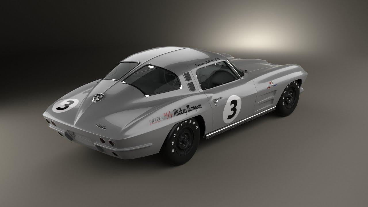 MickeyThomson 63 Z06 Corvette