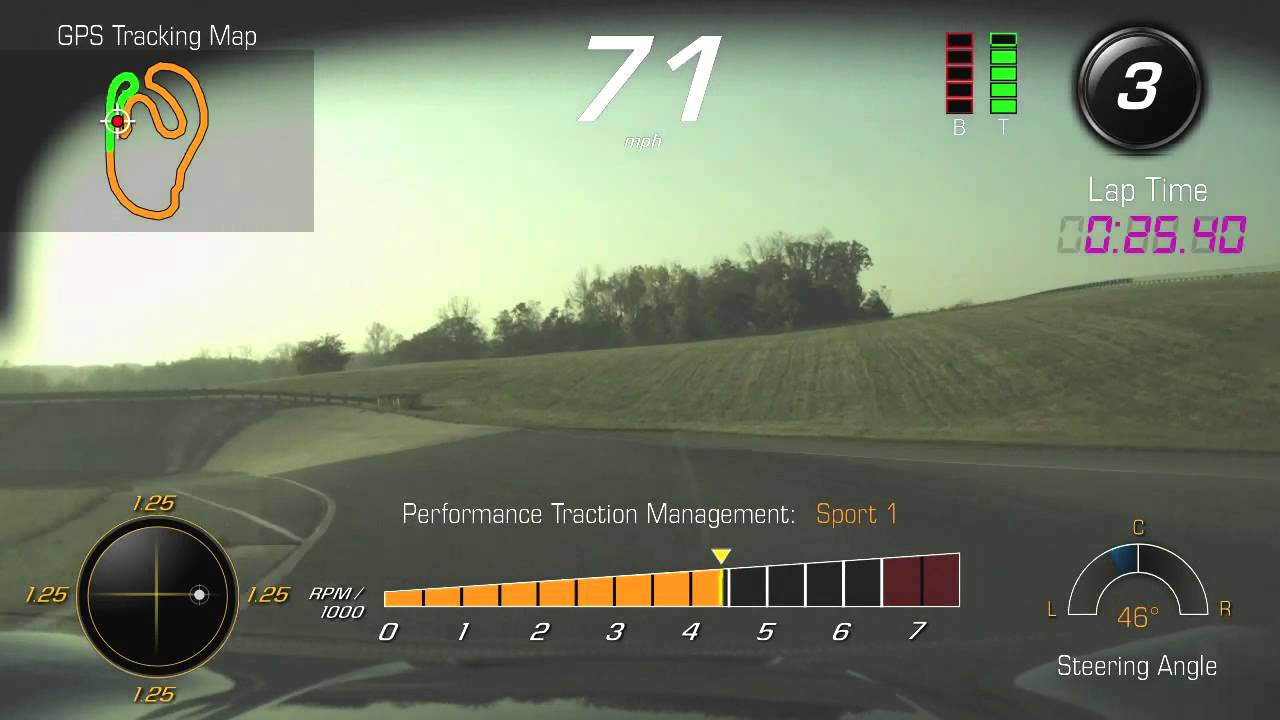 Milford Proving Grounds: Performance Data Recorder — C7 | Chevrolet