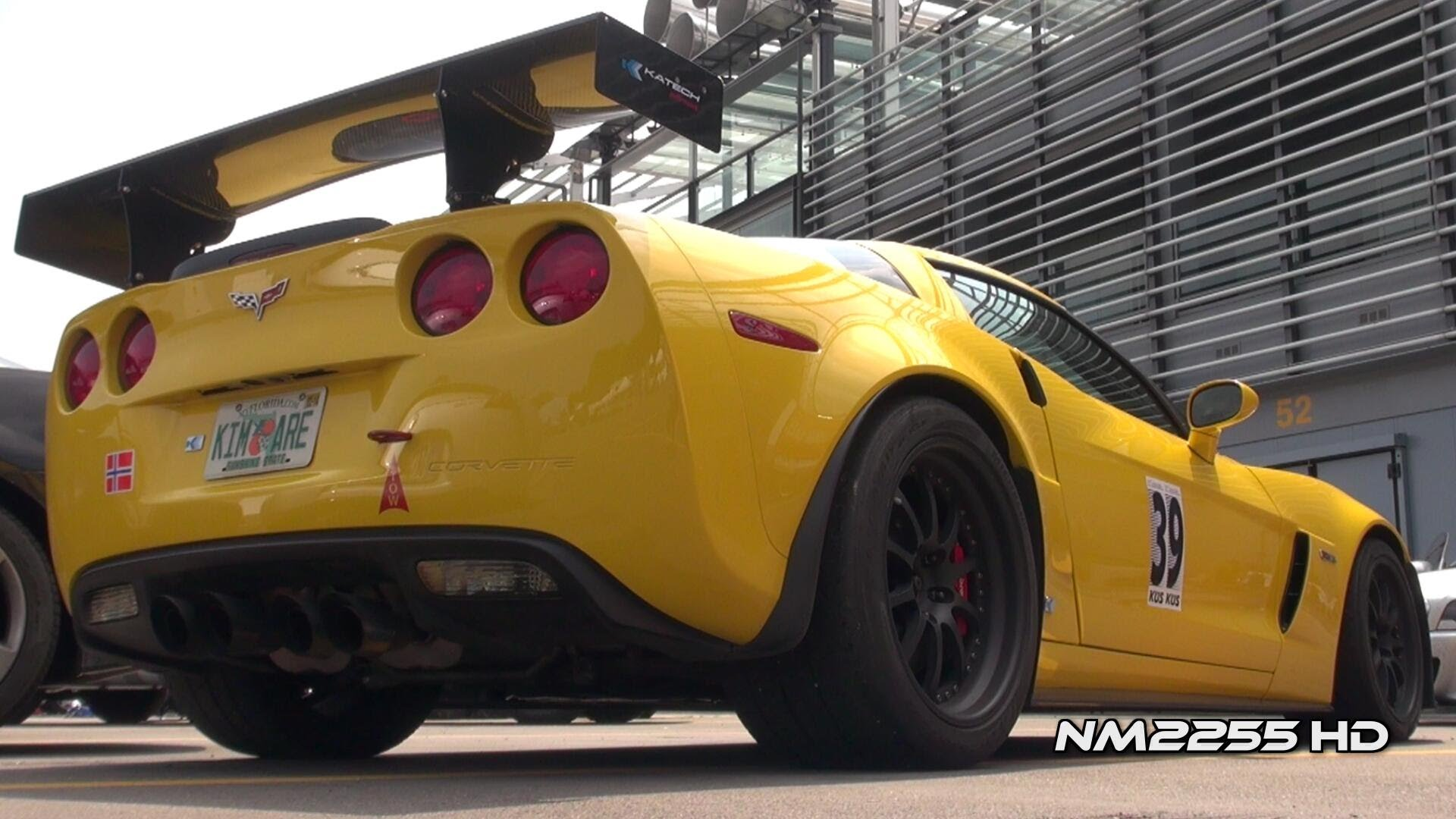 Modified Corvette Z06 with Corsa Exhaust LOUD SOUND!