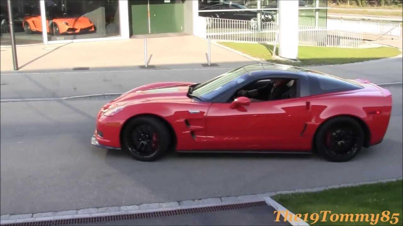 Modified Corvette ZR1 & Modified Corvette C6 Z06 = Amazing Sound!!