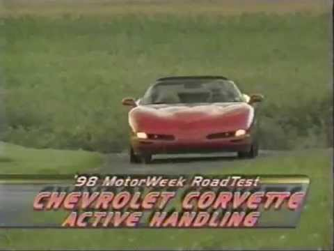 Motorweek 1998 Chevrolet Corvette Road Test – Active Handling