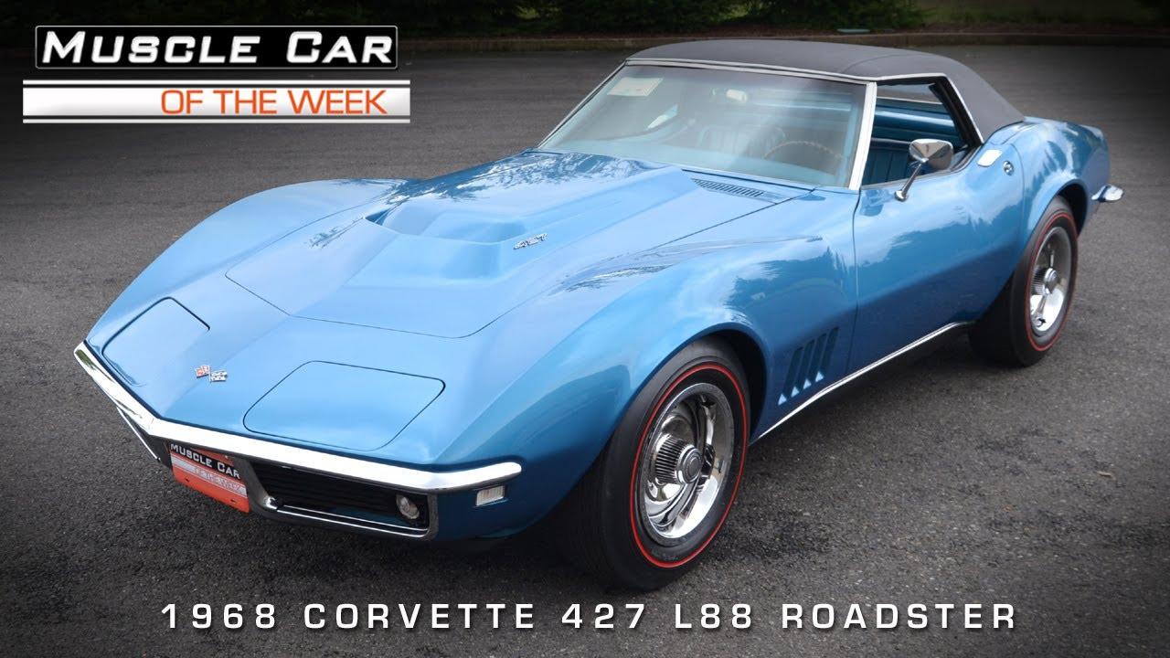 Muscle Car of the Week – 1968 L88 Corvette Roadster